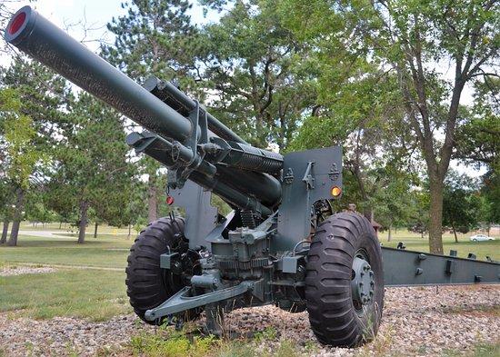Camp Douglas, Wisconsin: M-114A2 155mm Howitzer