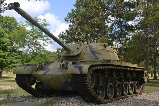 Camp Douglas, WI: M-48 Patton