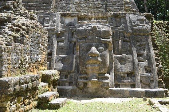 Punta Gorda, Belize: Mask Tempel Lamanai