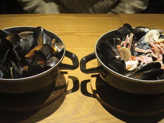 Musashino, Japon : ワイン蒸しとクリーム