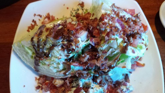Lynnwood, WA: Blue Cheese Wedge with Bacon