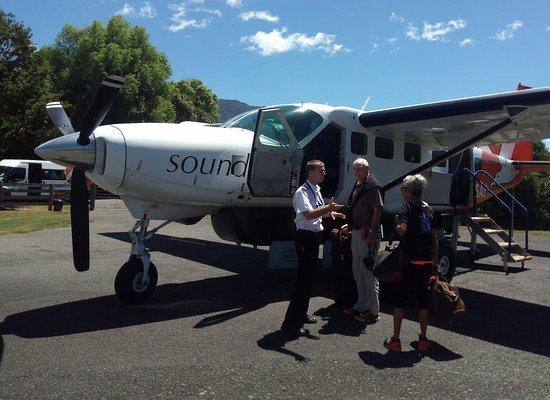 Picton, Nowa Zelandia: Sounds Air