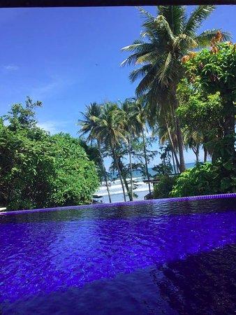 Las Flores Resort: infinity pool