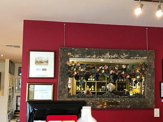 Blenheim, Nuova Zelanda: Inside the tasting room