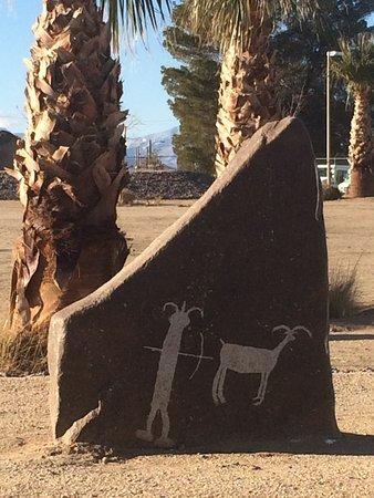 Ridgecrest, Californien: Petroglyph