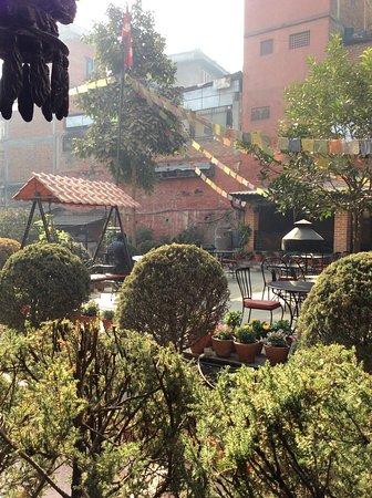 Hotel Encounter Nepal: Lovely terrace