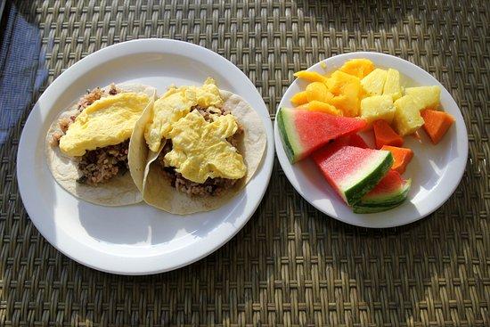 Playa Hermosa, Costa Rica: Las Brisas Resort - Costa Rican Style Breakfast - January 2017