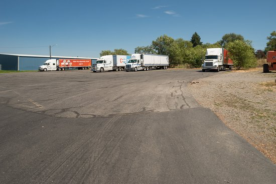 Largest Truck Parking in Spokane Valley