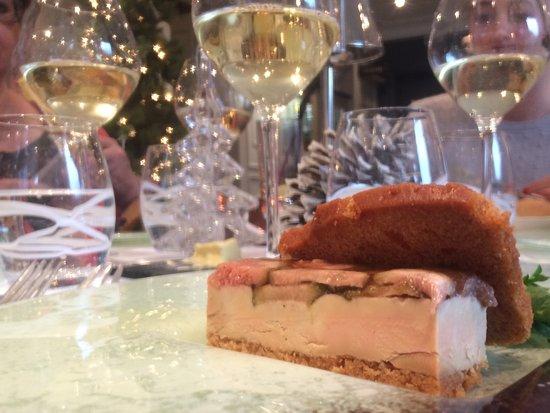 Saint-Etienne-au-Mont, França: Foie gras mi-cuit et figues