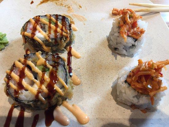 แชมเพน, อิลลินอยส์: dollar menu sushi