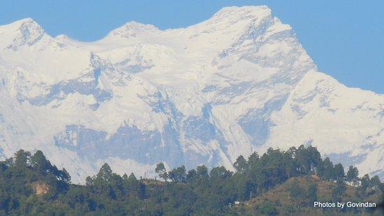 Kurintar, Nepal: Mountain view