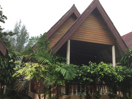 Diamond Sand Palace Resort : View of my bungalow A10