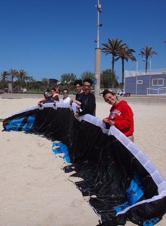 Αλκουντία, Ισπανία: Flysurfer Sonic FR Can Pastilla kiteschule Mallorca wind edmkpollensa com kitekurs April