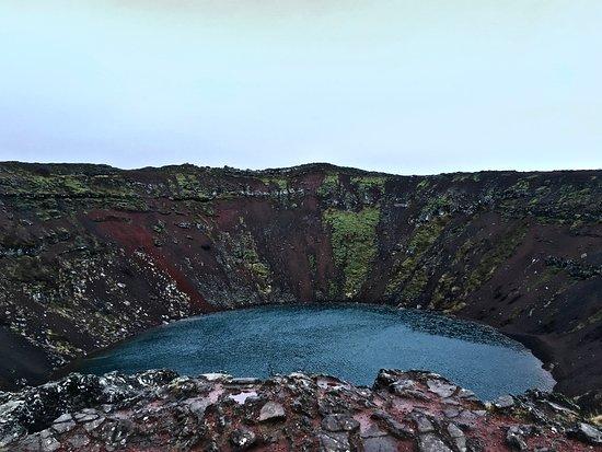 Selfoss, Islandia: Kerið crater