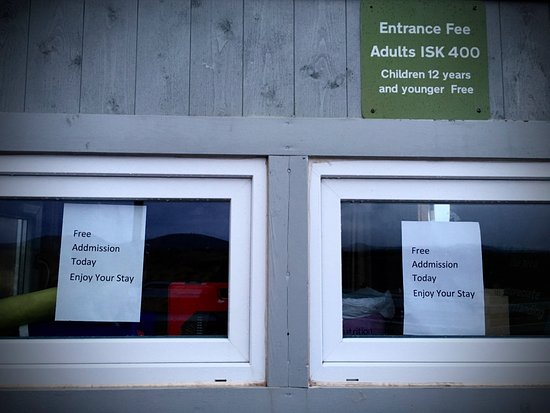Selfoss, Islandia: entrance fee