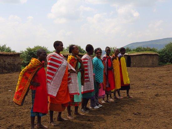 Sarova Mara Game Camp: Tribal dance