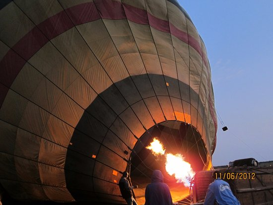Sarova Mara Game Camp: Hot air balloon safari