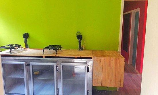 Port Alfred, Sydafrika: Communal kitchen
