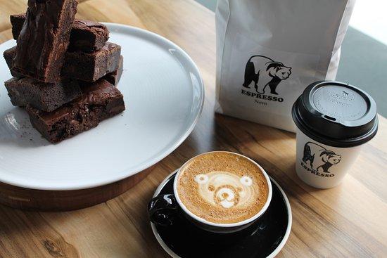 Robina, أستراليا: Coffee Art and Sweet Treats