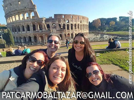 Guia Brasileira em Roma