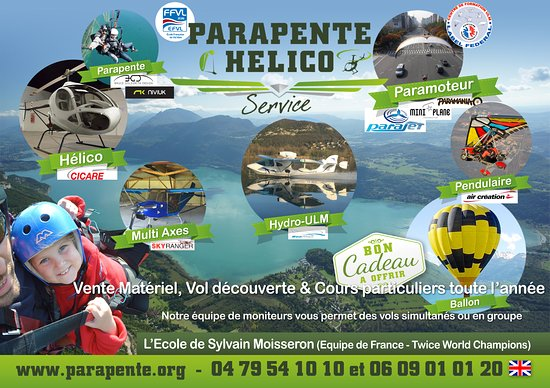 Parapente Hélico Service