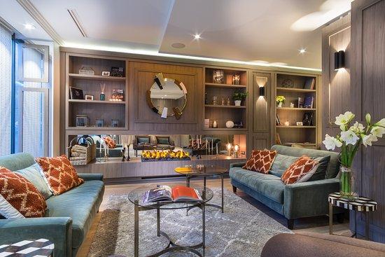 Hotel Waldorf Montparnasse : Hall Salon