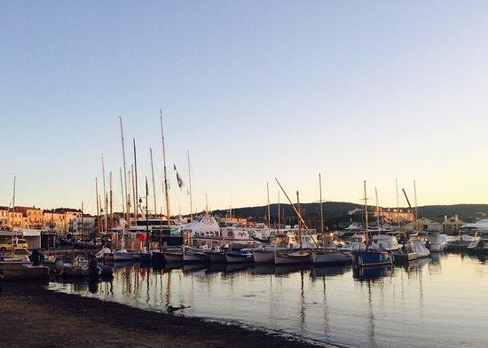Saint Tropez Port Sunset View Picture Of St Tropez Harbor Saint