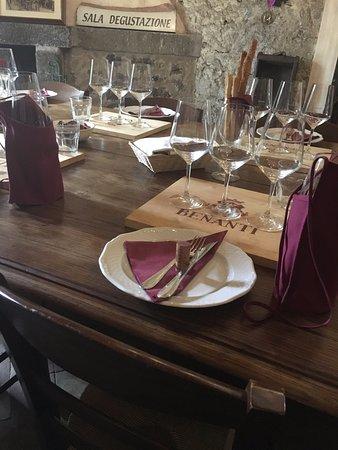 Viagrande, Italy: Benanti Winery Tour - Tasting Room