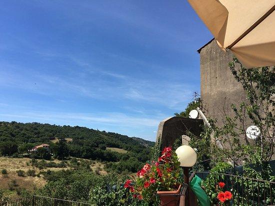 Arcidosso, Italien: La terrazza sul retro - Osteria Bastarda Rossa