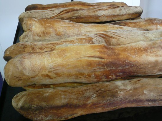 Isere, Frankrike: notre pain maison à nla farine du Trièves