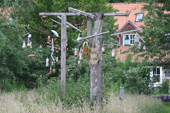 Winsen, Germany: Der Waste-Catcher ist im Rahmen eines FÖJ-Projektes entstanden.