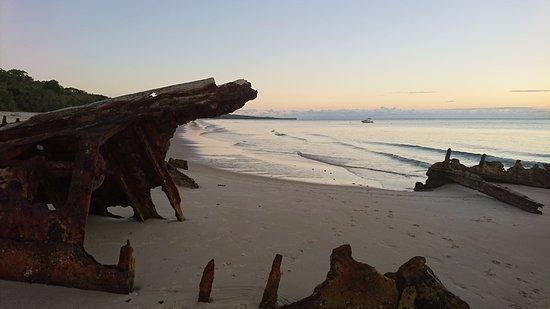 Bulwer, Australia: Nearby wreck