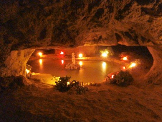 Villandry, Francia: Grottes Pétrifiantes