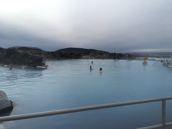 Lake Myvatn, Islandia: This was a great way to spend a few hours at the end of a very active trip. I recommend getting