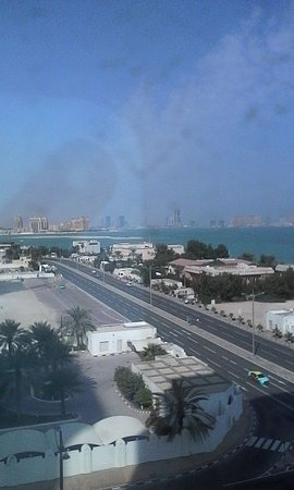 Retaj Al Rayyan Hotel: Point of view from the room