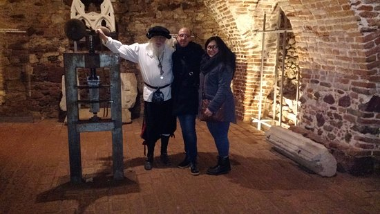 Brno, Republika Czeska: With the coin creator