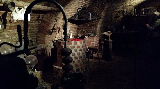 Brno, Czech Republic: the alchemists room
