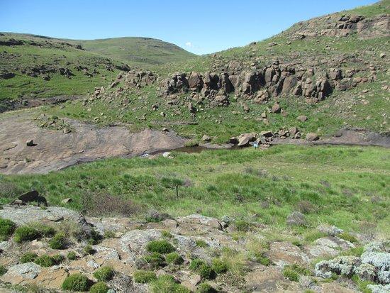 Rhodes, Sudáfrica: Drakensberg view