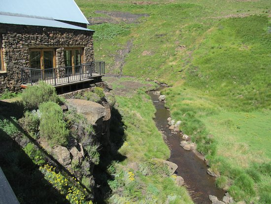 Rhodes, South Africa: Bell River flowing below Lodge
