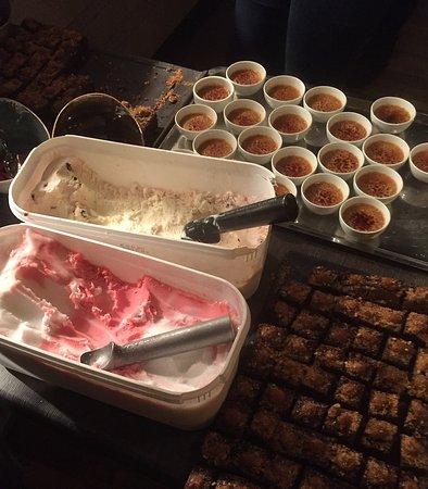 Tonsberg, Norway: Utsnitt fra dessertbordet