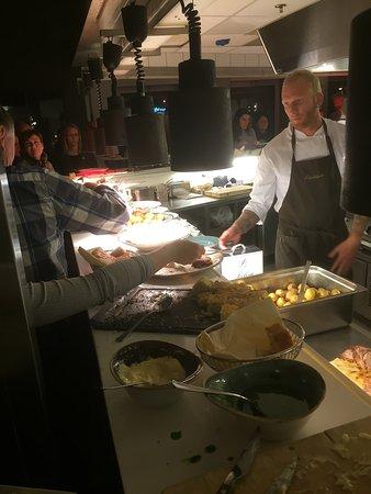 Tonsberg, Norway: Fra serveringen
