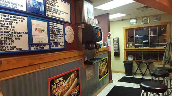 Hobart, IN: Cheese burger, Chicago style dogs, deep fried Oreo. YUMMY
