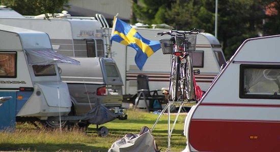 Haparanda, Svezia: Camping area