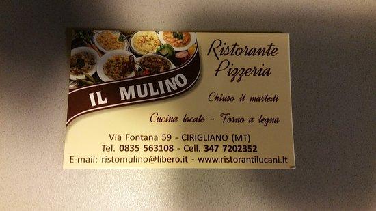 Ristorante Pizzeria Il Mulino Photo