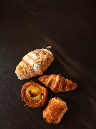 Clevedon, UK: Our pastries are the perfect start to the day