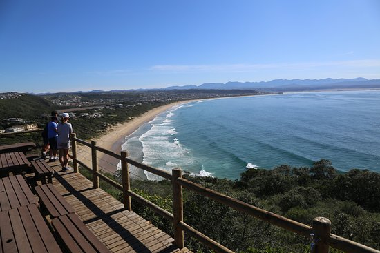 View from Robberg Nature Reserve over Plettenberg Bay