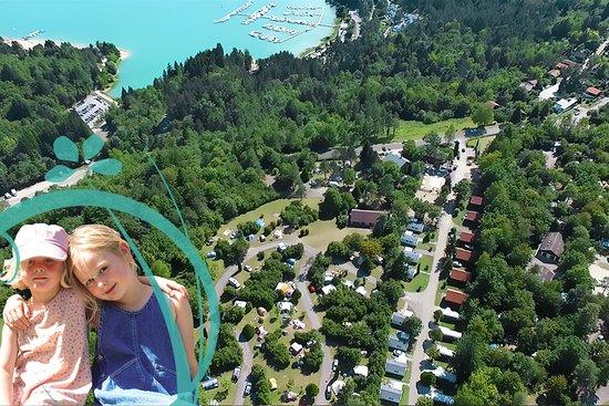 Trelachaume Campground: Vue aérienne du camping