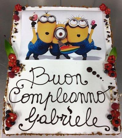 Vergato, Italien: Torta Compleanno
