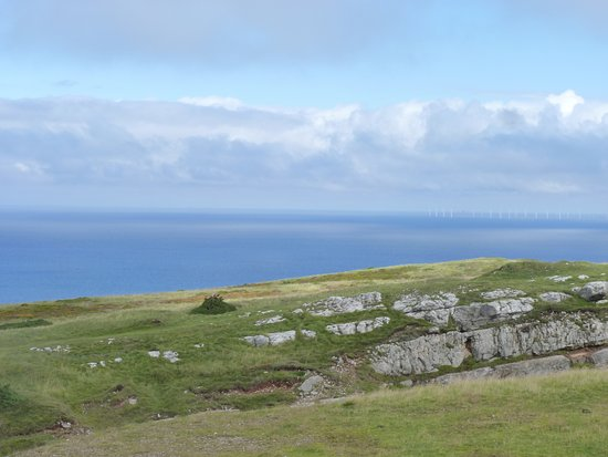 Great Orme: view from the cable car