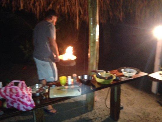 Fenix Hotel - On The Beach: BBQ son the beach!